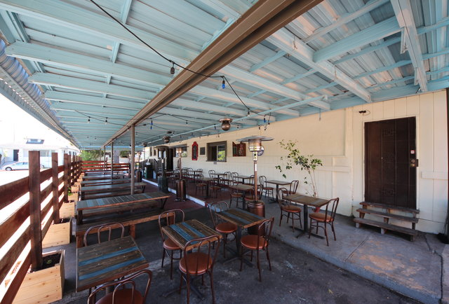 A burger-filled beer garden in Berkeley