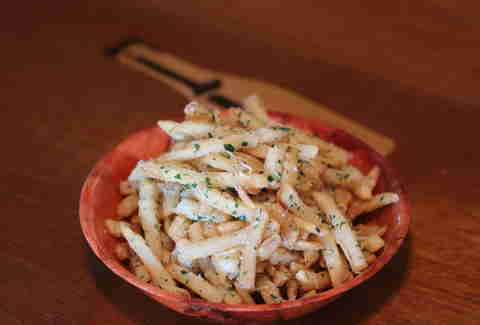 Truffle fries at Moxy