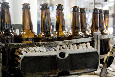 the bottling line at Kentucky Ale