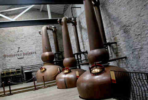 Column stills at Woodford Reserve