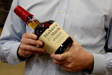 A bottle of Maker's Mark