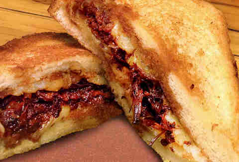 Ropa Vieja Grilled Cheese at Sugarcane