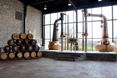 Alltech Distilling's pot stills
