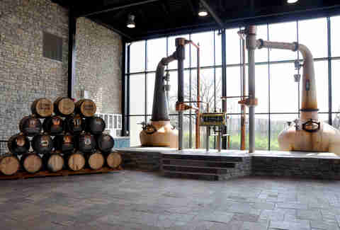 Alltech Distilling's pot stills