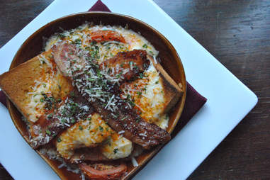 the hot brown at the brown hotel