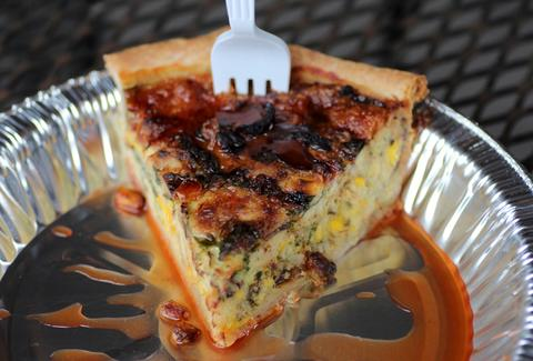 Crab con-quiche-da-door