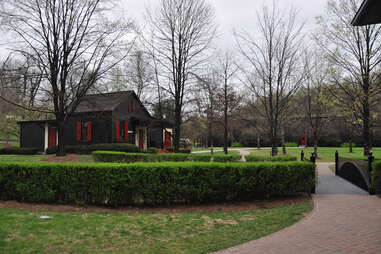 The campus at Maker's Mark distillery in Loretto KY