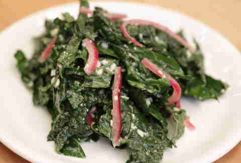 Mulberry and Vine Kale Salad