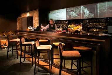 The bar at Reason & Mankind