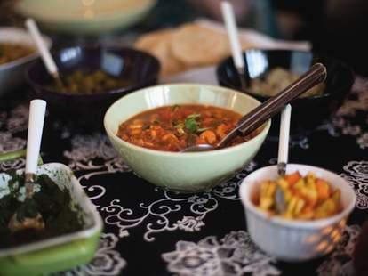 Mauritanian dinner at yum chaa
