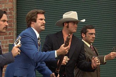 Anchorman at the rooftop film club