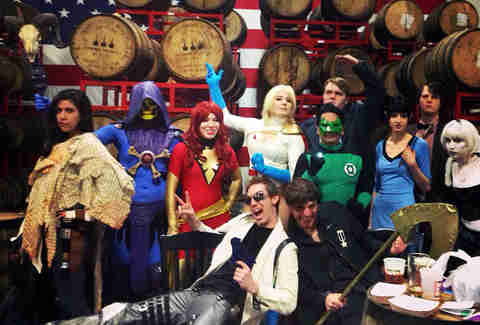 Super Hero/Super Villain Bar Crawl