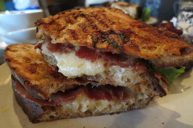 Mission Cheese's California Gold grilled cheese