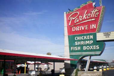 The Parkette Drive-in in Lexington KY