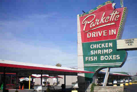 The Parkette Drive-in in Lexington KY