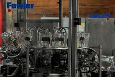 The Fowler bottle washing machine at Jim Beam American Stillhouse