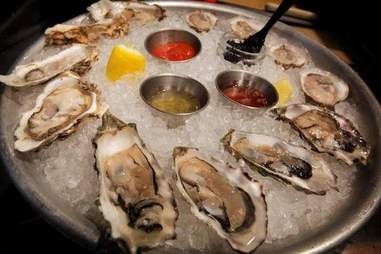 Oysters at Hungry Cat