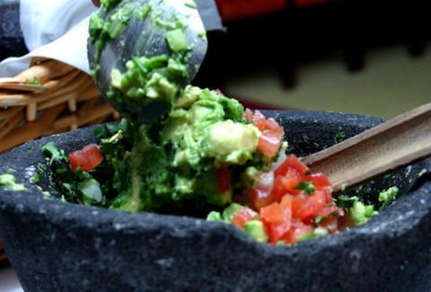 Guacamole at Rosa Mexicano