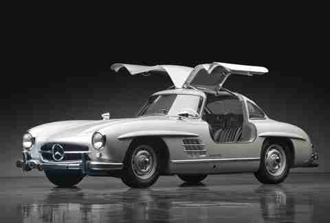 Gullwing Mercedes