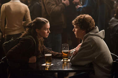 Opening Scene From The Social Network At Thirsty Scholar