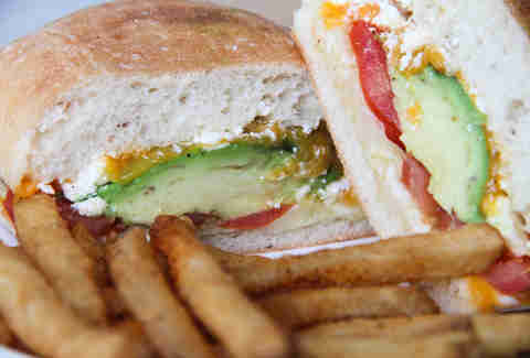Cafe Brazil Grilled Cheese with Avocado