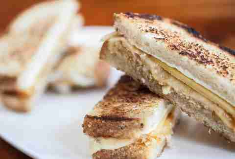 Ricotta and Saxony grilled cheese at Bar Pastoral