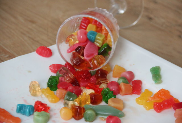 Three cute lady food writers eat a bunch of boozy candy, and we take a ton of pics