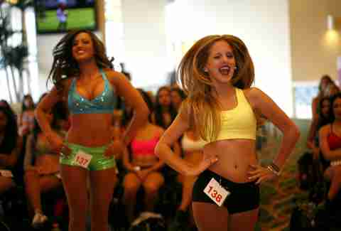 Miami Dolphins Cheerleader Tryouts