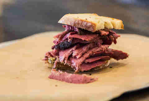 Smoked pastrami from Pieous