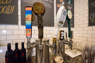 South Austin Brewing Co beer tap at Pieous