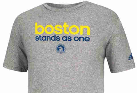 Adidas Boston Stands As One Tee