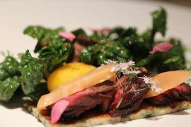 Dish at Allumette