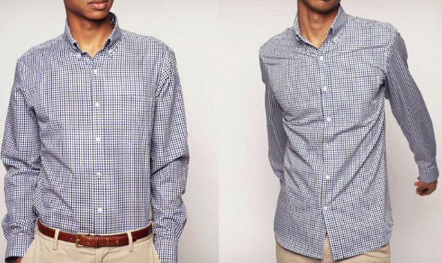 A dress shirt you only need to wash once a year