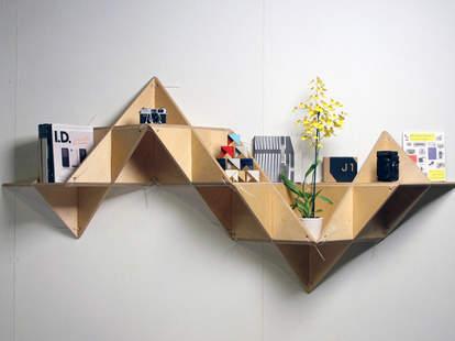 T. Shelf wall shelves
