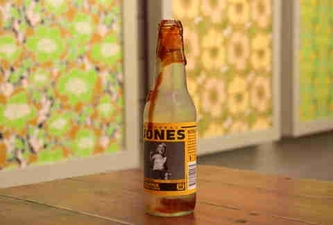 Jones soda at Glaze Teriyaki Grill