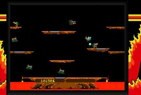 Joust game screenshot