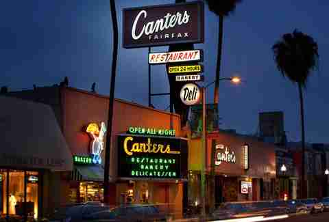Canter's Deli in LA