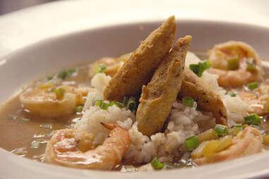 Shrimp etoufee at Strangelove's