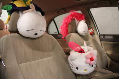A Hello Kitty Lyft