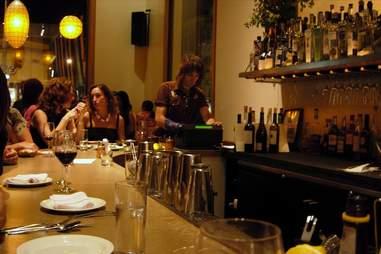 The bar at Nopa