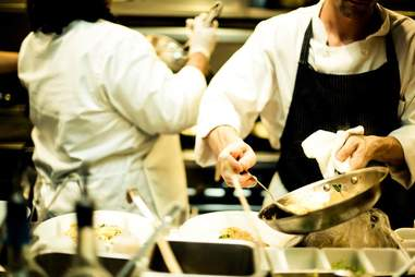 Chefs at Locanda