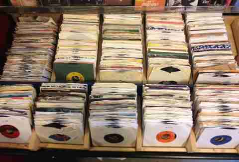 Records at Back Alley Vinyl