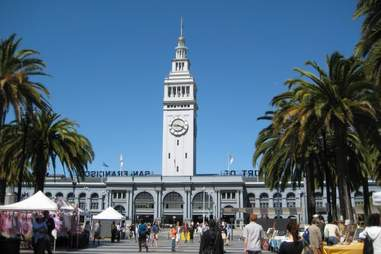 The Ferry Building at daytime