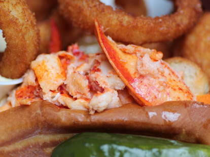 lobster from The Lobster Place