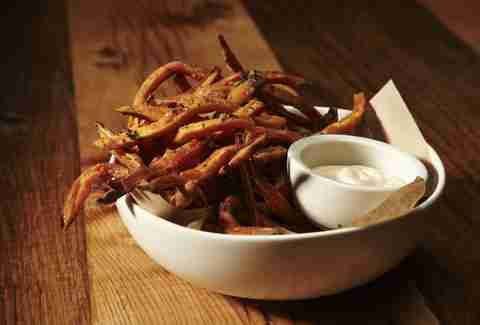 Sweet potato fries at Pono burger, Santa Monica