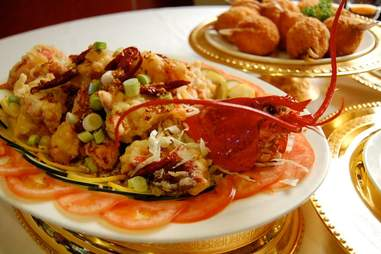 Lobster from Jasmine Seafood Chinese Restaurant in San Diego.