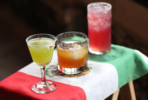 All drinks for Bailout Cinco de Mayo