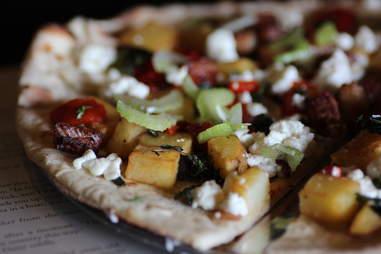 """Baked"" Potato pizza at Renegade Publik House"