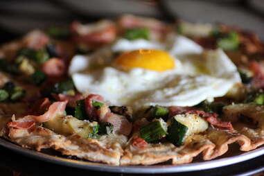 Goldeneye pizza at Renegade Publik House