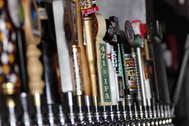 tap handles at Renegade Publik House
